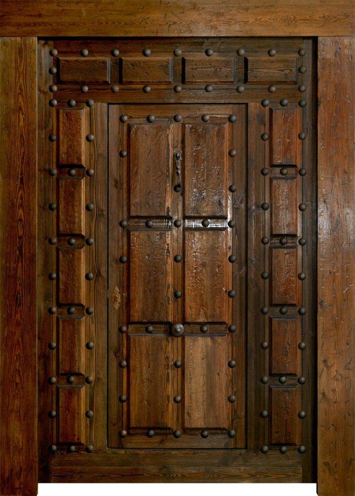 Portones de madera antiguos best puertas de interior y for Portones de madera antiguos