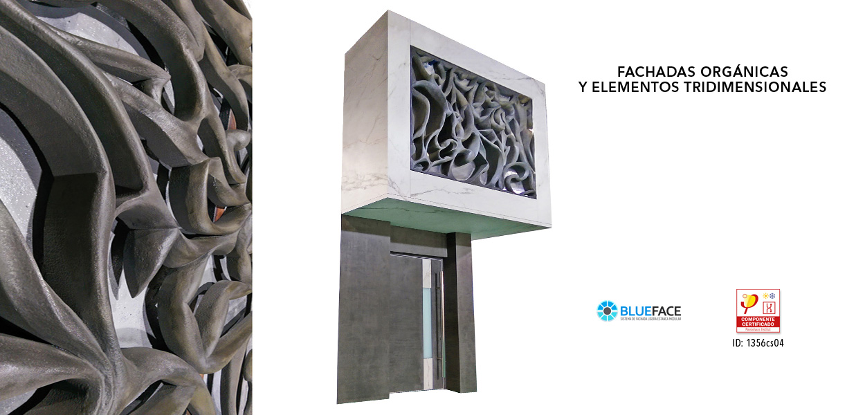 Renovaantes – Fachadas orgánicas y elementos 3D